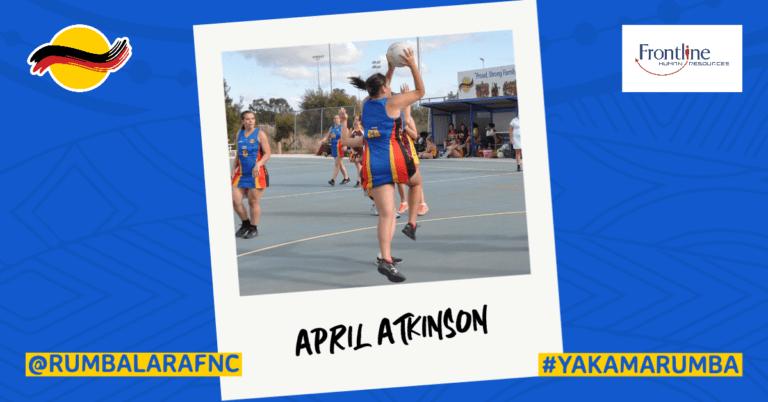 Player Profile - April Atkinson