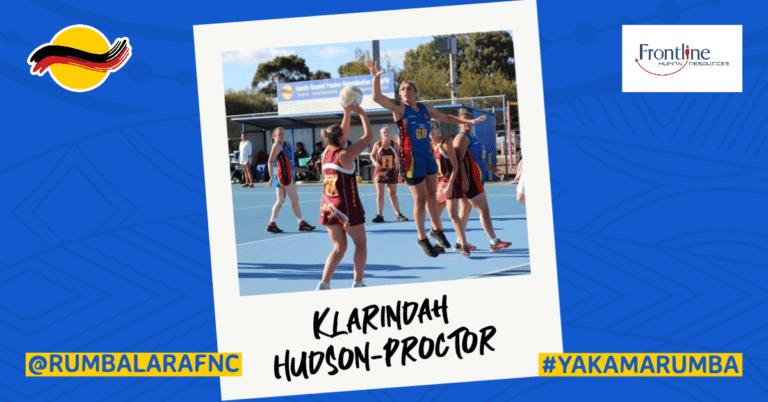 Player Profile - Klarindah Hudson-Proctor