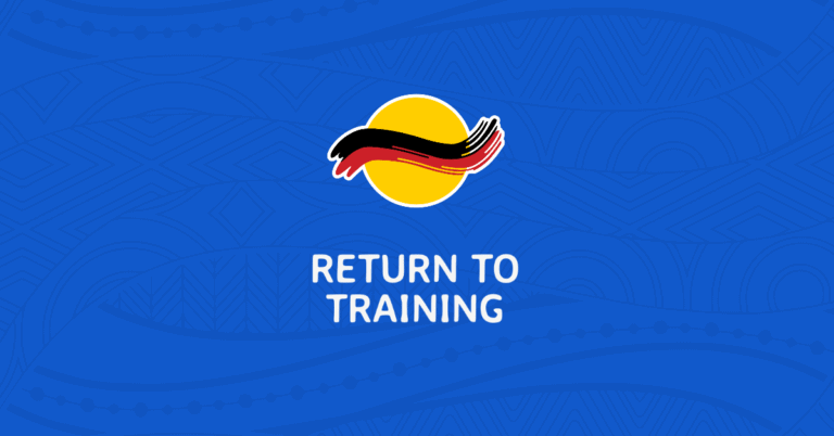 Return to Training