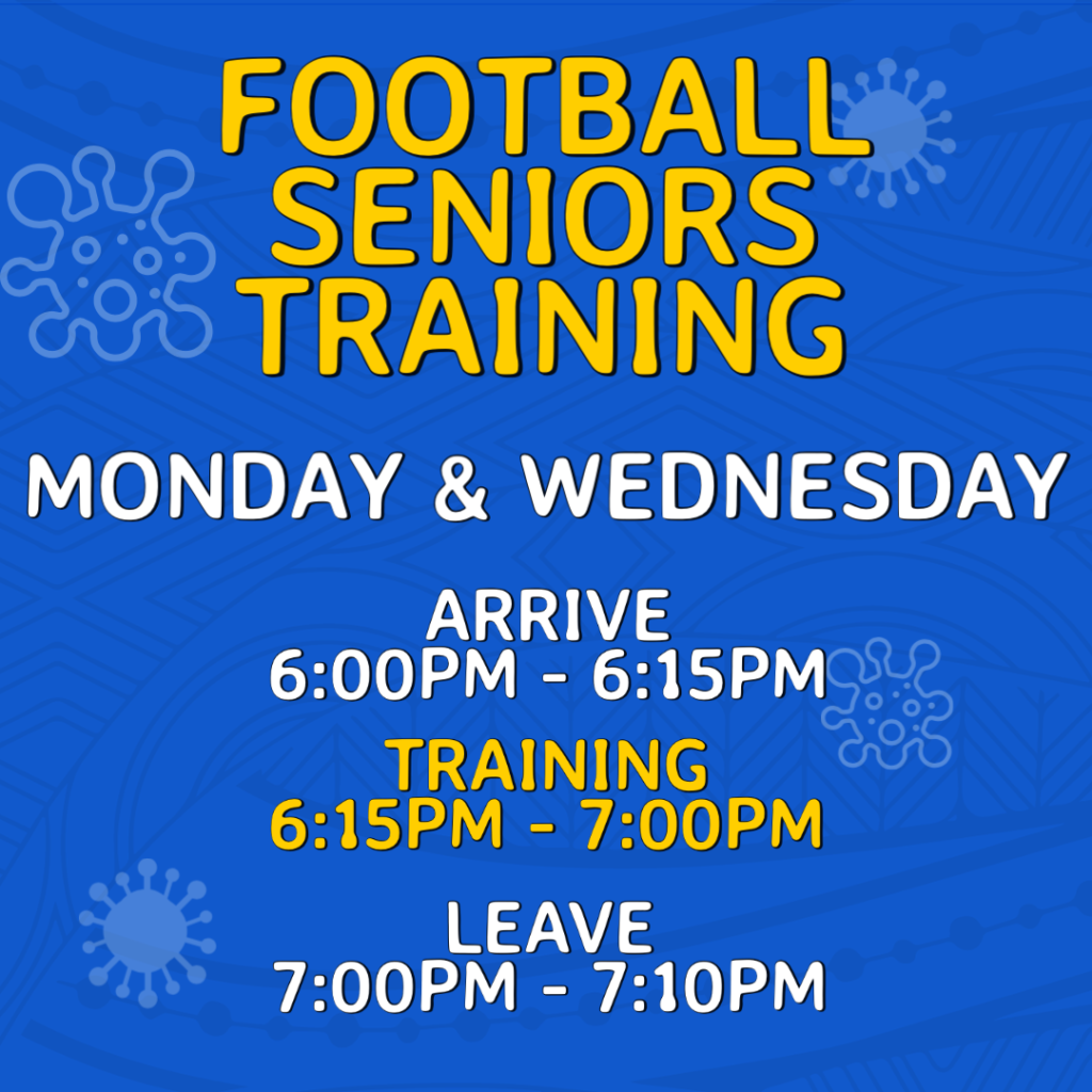 Return to Training - Seniors Football