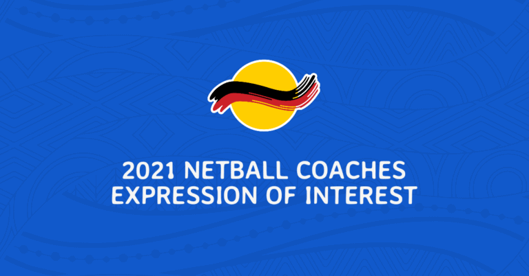 2021 NETBALL COACHING EXPRESSIONS OF INTEREST